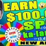 NO INVITE EARN 100 (P5000) FOR FREE JUST PLAY AND SPIN 101 FREE WITH PROOF OF EARNINGS