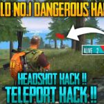 No1 Dangerous Hacker in Free Fire Free Fire Tricks Tamil Sk Gaming