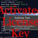 Sublime Text 3 License Key 100 Working Pro Serial Keys