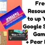 FREE Resources to Up Your Google Slides Game ( Peardeck too)