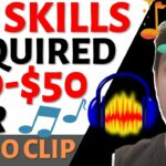Get Paid Per Audio Clip Mastered (10-50 Each) Make Money Online FREE – Worldwide (Easy Tutorial)