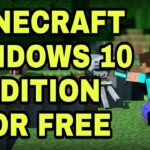 HOW TO DOWNLOAD MINECRAFT WINDOWS 10 EDITION FOR FREE 2020