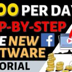 How to Make 500 Per Day Generating Simple Video Clips (FREE New Facebook Software)