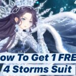 Love Nikki V0 Guide – How To Get 1 FREE 4 STORMS Suit Without Spending