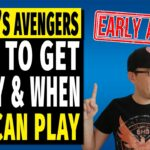 Marvels Avengers Early Access Download Guide How To Play Timer Delay