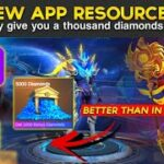 NEW APP RESOURCES THAT MAY GIVE YOU A THOUSAND OF DIAMONDS🤫 LEGIT 100 – Mobile Legends