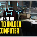 Tell Me Why How Unlock The Police Station Computer (Hacker 101 Achievement)