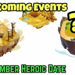 Upcoming Events: Egypt Event and Back to School Event Dragon City 2020