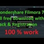 FILMORA7.8.9 PATCH+CRACK+REGISTRATION CODE LIFE TIME WORKING IN SIMPLE WAYS ALLIN ONE
