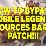 HOW TO BYPASS MOBILE LEGENDS RESOURCES BARATS PATCH TAGALOG TUTORIAL