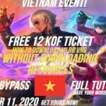 HOW TO DOWNLOAD VNG MOBILE LEGENDS WITHOUT DOWNLOADING THE RESOURCES FREE KOF TICKETS