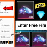 How To Get Free 3000 Diamond In Free Fire Get Free Unlimited Diamonds No Paytm No App