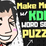 How To Make And Sell KDP Word Search Puzzle Books For Free In 2020