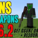 How to get Guns for Minecraft 1.16.2 – download install GGUNZ Datapack 1.16.2 (Vanilla Gun Mod)