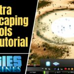 Cities Skylines Extra Landscaping Tools Mod Tutorial