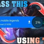 HOW TO BYPASS DOWNLOADING RESOURCES ON MOBILE LEGENDS BRODY PATCH 1.5.18