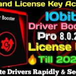 Iobit Driver Booster V:8.0.2 pro License Key Latest 2020 ( NO CRACK ) ☑️100 Working ☑️ till 2022