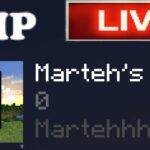 MARTEH SMP (First Stream) – The Opening Acquiring Basic Resources Minecraft: Bedrock Edition