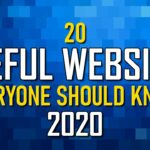 20 Useful Websites Everyone Should Know 2020