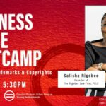 Business Sense Bootcamp: Know Your Trademark and Copyrights