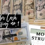 Cash Envelope Stuffing Counting First Paycheck of Nov 2020 Sinking Funds Inconsistent Income