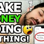 Do NOTHING Get Paid PayPal Money For FREE (Make Money Online WORLDWIDE 2020)