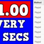 Earn 1.00 Every 15 Secs (Free PayPal Money Trick)