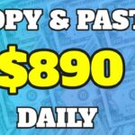 Earn 890 Per Day With SIMPLE Copy And Paste