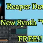 Get FREE DAW (Reaper) NEW FREE Synth (VITAL) – How To Download Install Them – amnerhunter.com