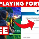 How To Make 50 Free Paypal Money Just By Playing Fortnite (2020)