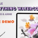 Lets Talk Everything Watercolor: Live Procreate Demo