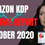 My KDP Income for October 2020 – and a great report tool