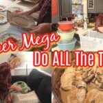 NEW SUPER MEGA ALL the THINGS \ BIG COOKING, Deep CLEANING, LARGE Family Organizing, NEW Dishes
