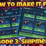 SWGoH – How to Make it f2p Episode 3: Shipments