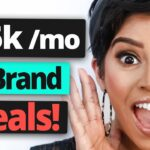 Broke Influencer? Get Paid 15,000 Mo. with these Websites, Brand Deals Sponsorships