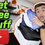 HOW TO GET FREE STUFF AS A SMALL YOUTUBER