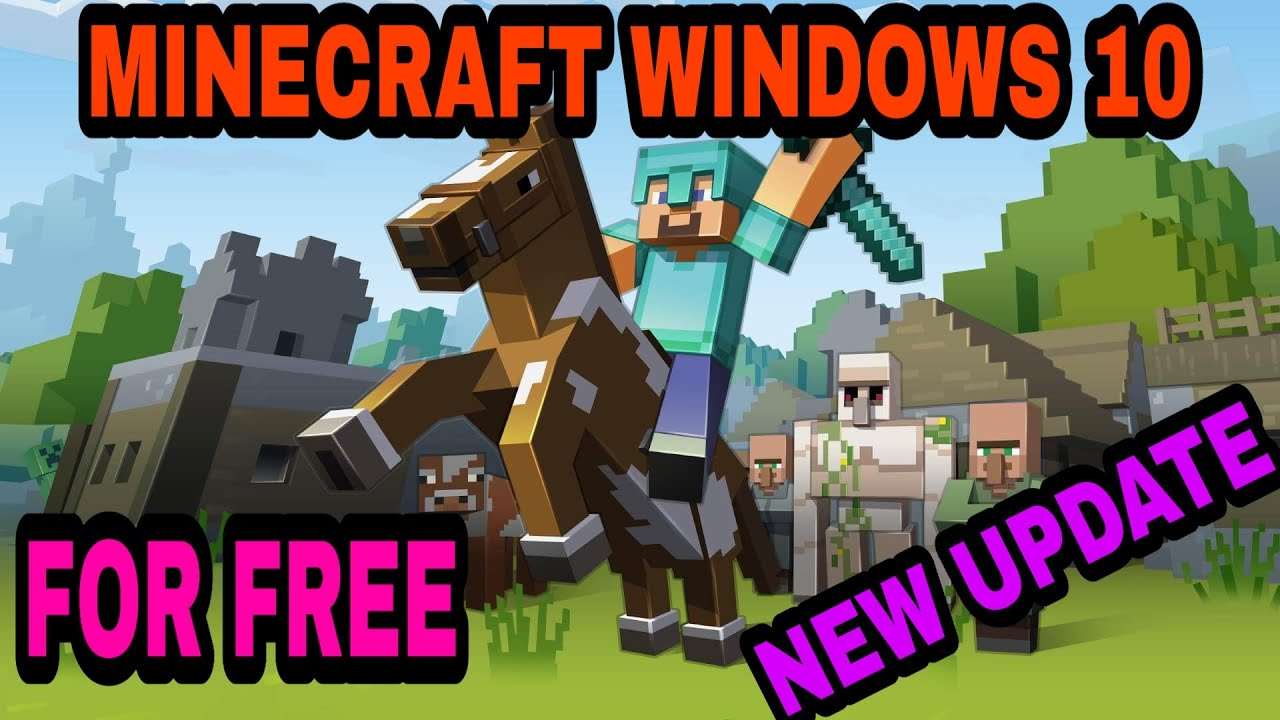 HOW TO INSTALL MINECRAFT BEDROCK EDITION FOR FREE 2020 1 ...