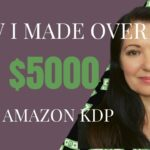 How I made 5108 with low content books on Amazon KDP. Income Report November 2020