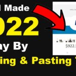 How I made 922 Today By Copying Pasting Text (FREE EASY) – How To Make Money Online In 2021