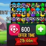 How To Cheat Puzzle Event 2020 100 Working Dragon City Cheat