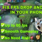 How to Fix FPS DROP and LAG in Mobile Legends Lag 2020