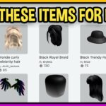 How to get CATALOG ITEMS for free in ROBLOX