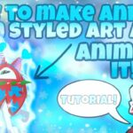 How to make ANIMAL JAM STYLED ART and ANIMATE it Tutorial