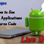 How to see Mobile Apps Source Code TAMIL teknique