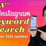 INSTAGRAM HASHTAG STRATEGY 2021 -New- Keyword Search feature in Instagram