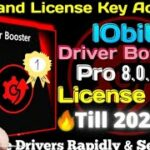 IObit Driver Booster Pro 8.0.4 + License Key 2020-2024 ☑️☑️1000 Working ☑️ Till 2024