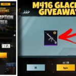 M416 Glacier Id Giveaway New Trick To Get Limited Time Bag Pack