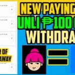 NEW PAYING APPS SA GCASH 100 PESOS MINIMUM WITHDRAWAL EARN MONEY ONLINE- MAKE MONEY ONLINE