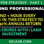 PDR Strategy (Part 1) – Just Spend 1 hour and earn HUGE 30 returns yearly.
