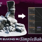 QUICK TIPS Simply Bake PBR Textures With SimpleBake (Blender Add-on)